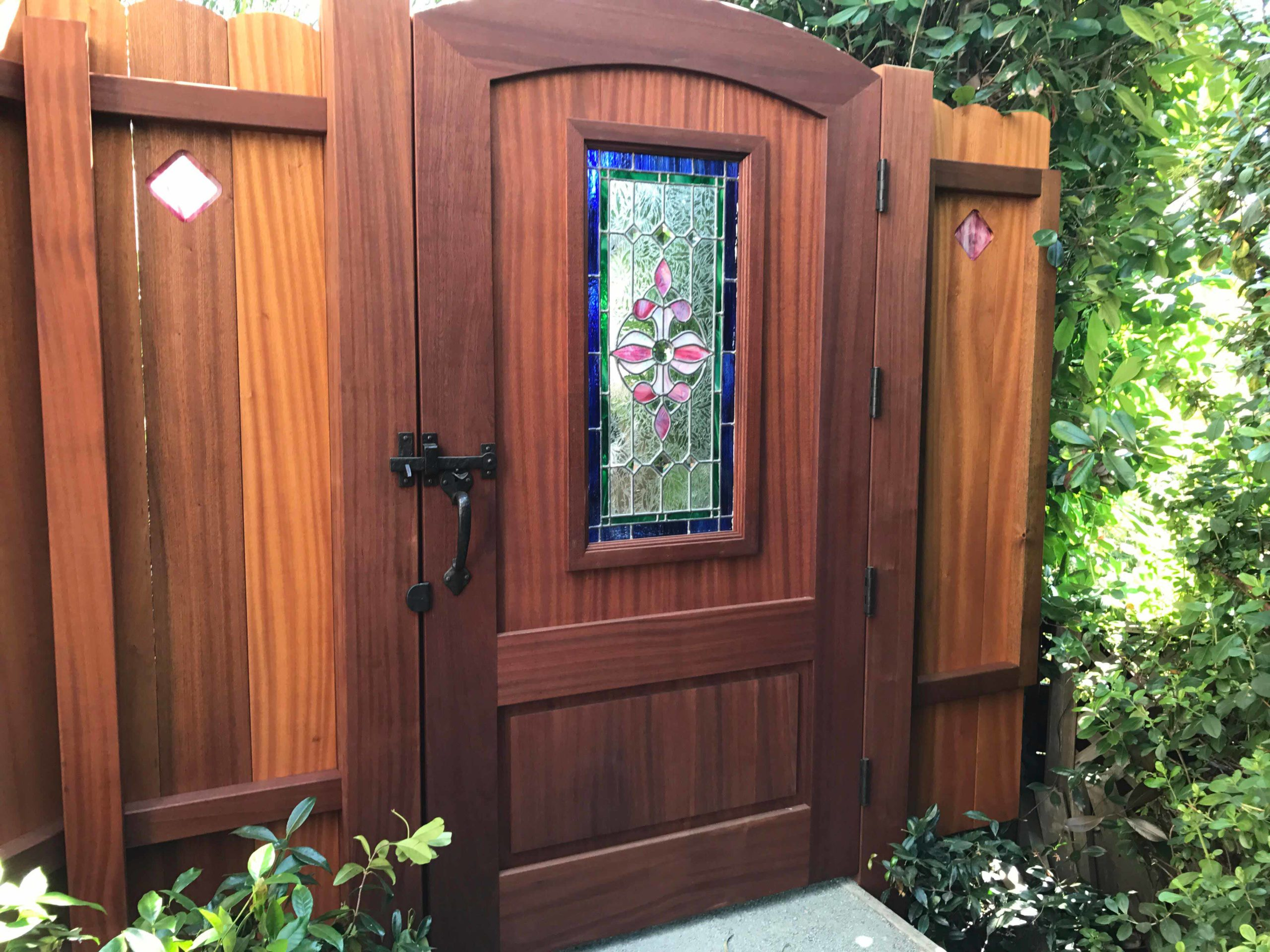 Stained Glass Arch Top