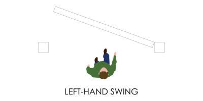 Door Handedness - Left Swing
