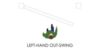 Door Handedness - Left Out-Swing